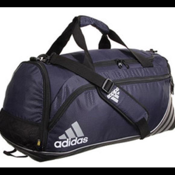 fa0b2f473c Adidas Team Speed Duffel Bag Small Blue New Soccer